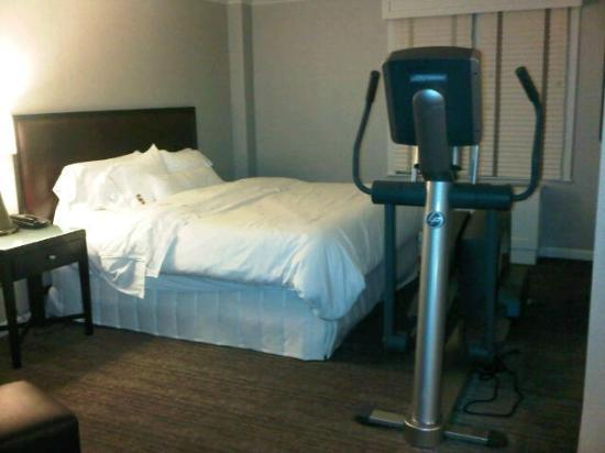 The Westin Governor Morris, Morristown: Workout gear in the sleeping room is not cool when like this