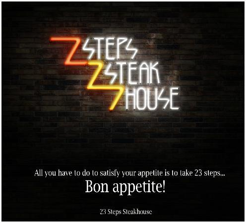 23 Steps Steak House: 23 Steps Steakhouse in Highlands!