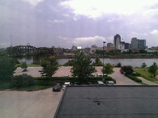 Courtyard Shreveport-Bossier City/Louisiana Boardwalk: Our view