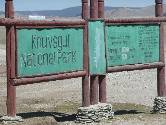 Khovsgol Province, มองโกเลีย: Enterance to Khuvsgul national park