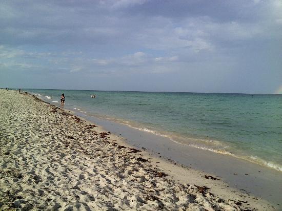 The Colony Hotel: Walk on the beach