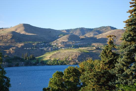 Chelan Resort Suites: Our view from our room
