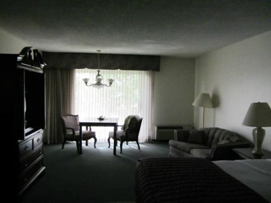 River Terrace Inn: Spacious room