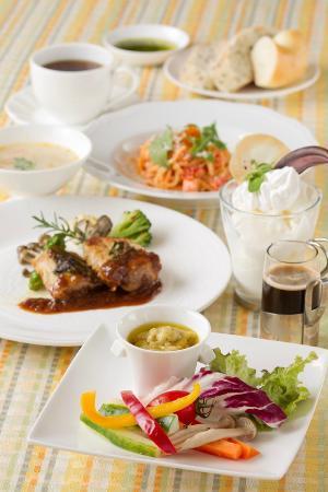 Hotel Sekia: イタリアン 夕食例
