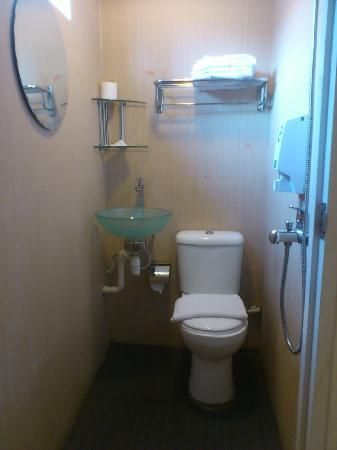 Arianna Hotel: Small but clean bathroom
