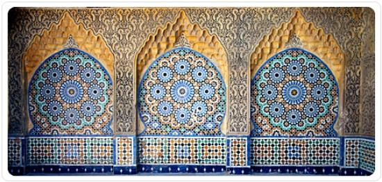 Tangier Private Guide The Moroccan Beautiful Art Carved Plaster And Mosaic Tiles