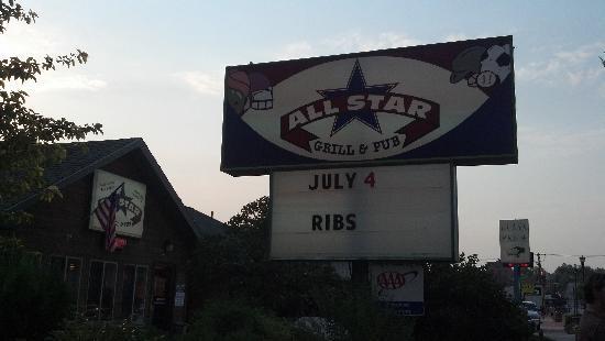 All Star Sports Grill