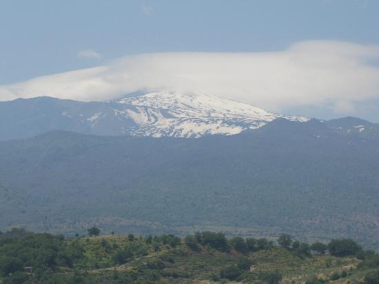 SLS Sicily Limousine Service: Snow Capped Mt. Etna