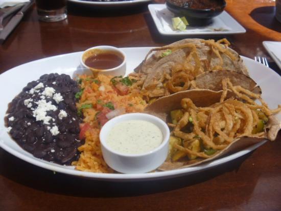 Asada Laguna: Tacos vegetarianos