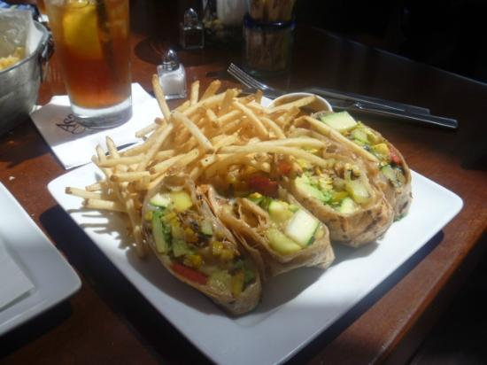 Asada Laguna: Wrap vegetariano