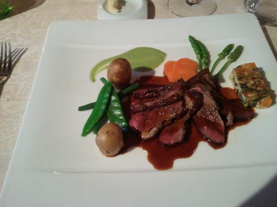 restaurant lipsius: Delicious duck entree