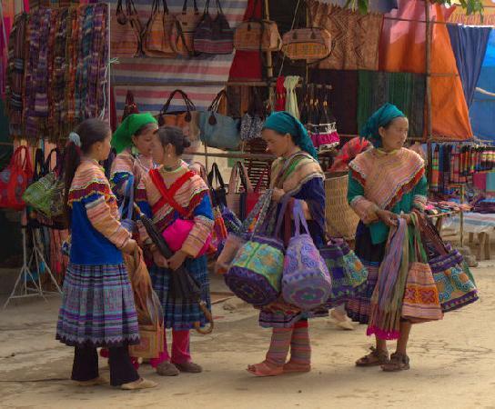 Flower Hmong at Bac Ha