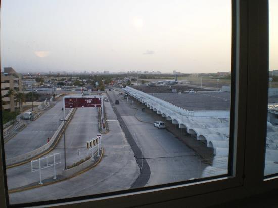 San Juan Airport Hotel : View from bedroom window
