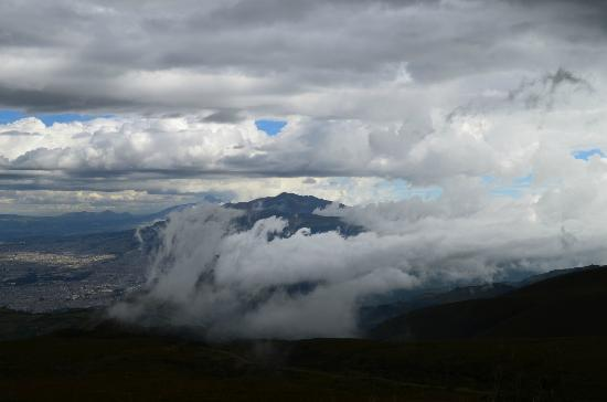 Teleferico Quito : View from 4100m