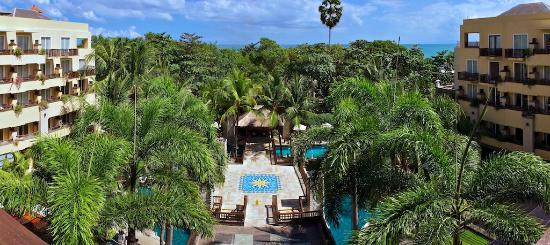 Kuta Paradiso Hotel: Top View