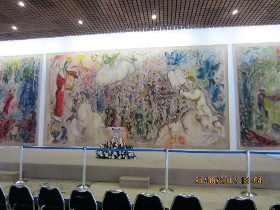Knesset (Parliament) : Chagall tapestery