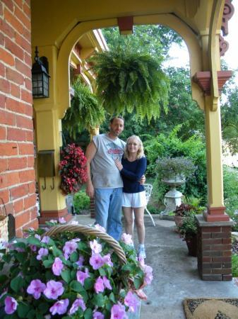 The Blackfork Inn Bed & Breakfast: Todd & Cheryl, great host
