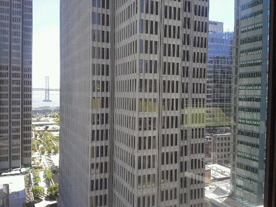 Le Meridien San Francisco: view from the 16th floor room