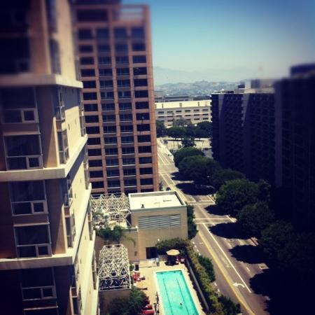 Omni Los Angeles at California Plaza: view from room
