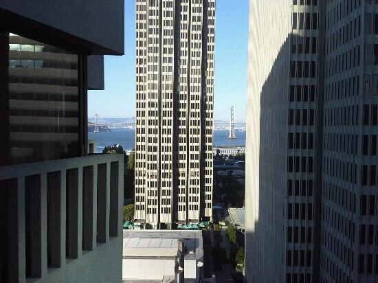 Le Meridien San Francisco: view from room on 16th floor