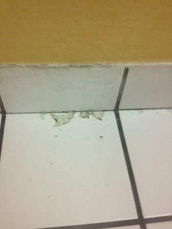 Comfort Inn  Philadelphia Airport: Bathroom floor