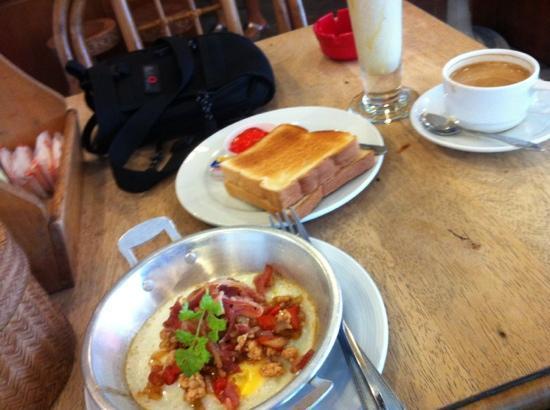Khaosan Restaurant: Kai kah