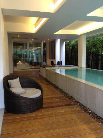 The Quarter Resort Phuket: Luxury Pool Suite - private lap pool but with a roof overhead