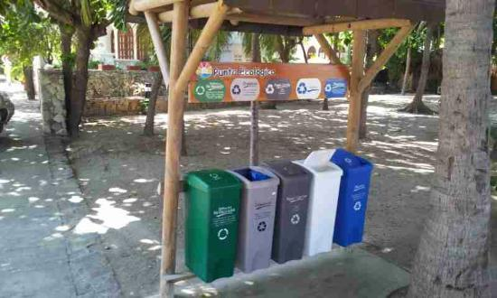 Irotama Resort: Recycling...