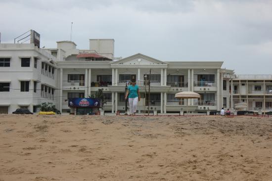 Victoria Club Hotel View From Puri Beach