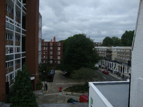 Kensington West Hotel: View from room