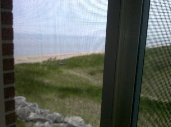 Lighthouse Inn Hotel: View from our room window.