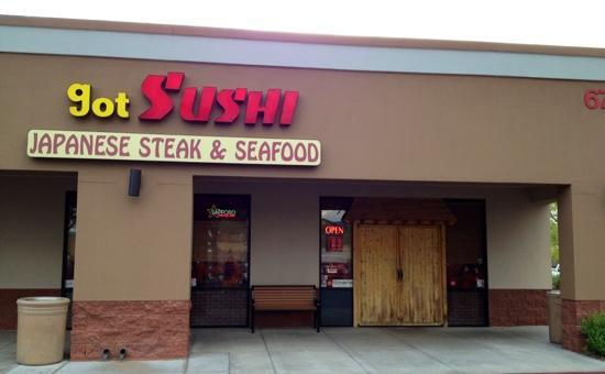 Got Sushi : 7-11-12 strip mall sushi