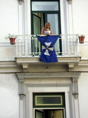 Hotel Fontana: Me as Evita