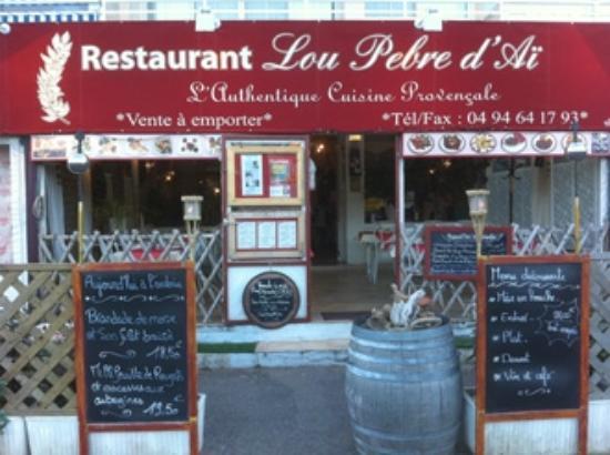 Lou Pebre D'Ai: specialitees  provencales