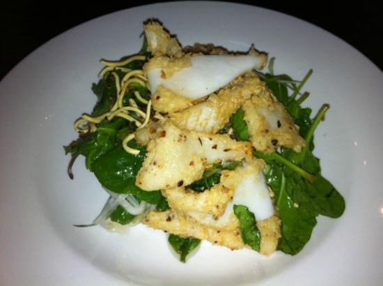 Stratus 233: Salt and Pepper Squid Vietnamese Salad