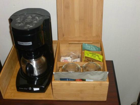 بست ويسترن بلس باكر ستريت إن آند كونفنشن سنتر: Coffee service