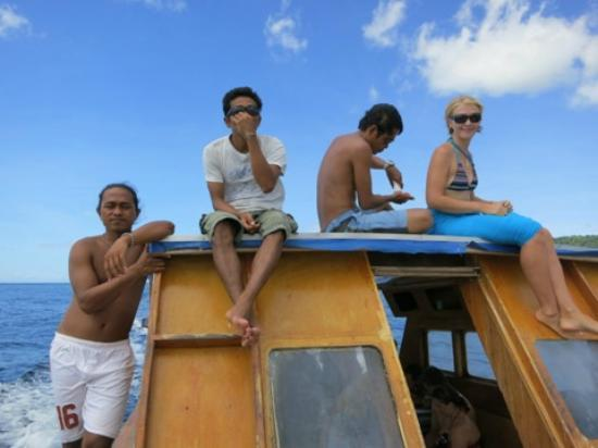 Living Colours Dive Resort: great staff