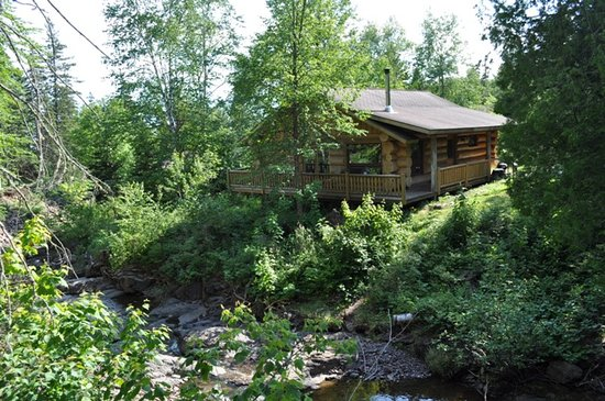 Cascade Lodge: Cabain 12 is excellent on the creek!