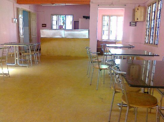 TTDC Hotel Tiruchendur inside the restaurant