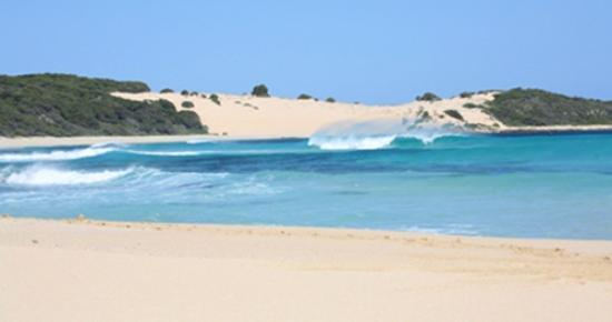 Miya Miya Bed & Breakfast: Injidup beach
