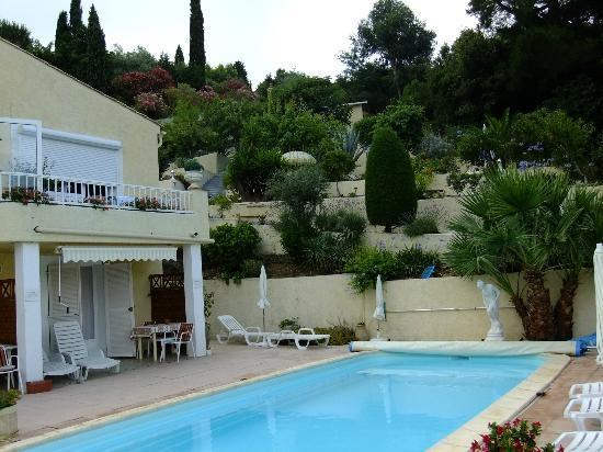 Villa Tricoli : pool & gardens