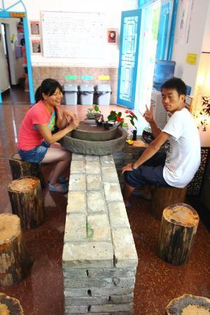 Yangshuo Houyuan Hostel: tee y comunicacion