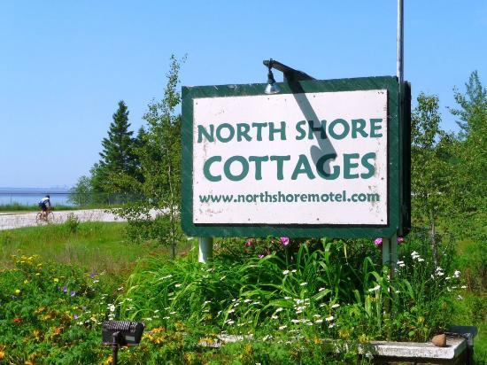 North Shore Cottages - Look for the Sign!