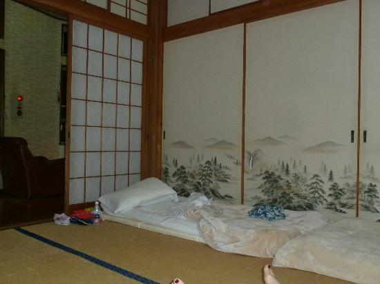 Earth Hostel: A glimpse of our room!