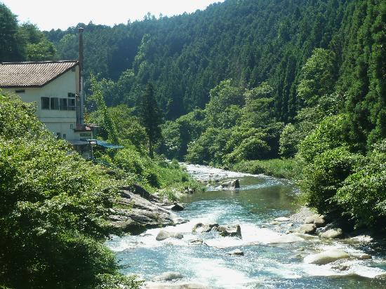 Earth Hostel: Hostel perched on the edge of river!