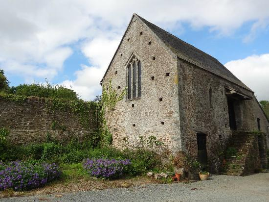 """Erth Barton"" even has its own church... although now it's just another barn!"