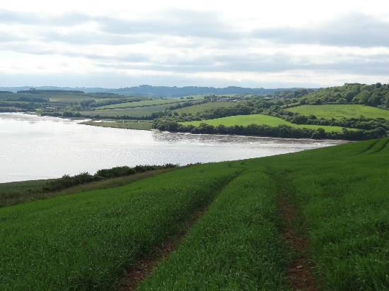 "Beautiful scenery around ""Erth Barton"" on our walk"