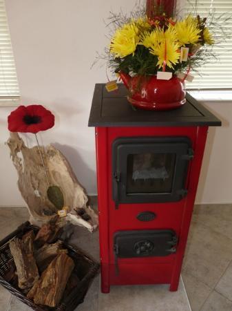 Meike's Guesthouse: Heisser Ofen