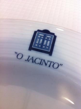 o jacinto: Le plat