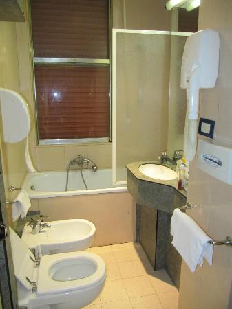 Park Hotel California: bathroom
